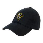 Black Twill Unstructured Low Profile Hat-Colonel Head