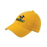 Gold OttoFlex Unstructured Low Profile Hat-Primary Logo