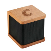 Seneca Bluetooth Wooden Speaker-C Primary Mark Engraved