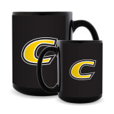 Full Color Black Mug 15oz-C Primary Mark