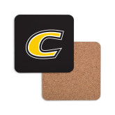 Hardboard Coaster w/Cork Backing-C Primary Mark