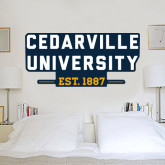 2 ft x 4 ft Fan WallSkinz-Cedarville University EST. 1887
