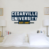 3 ft x 6.5 ft Fan WallSkinz-Cedarville University EST. 1887