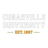 Large Decal-Cedarville University EST. 1887, 12 inches wide