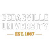 Extra Large Decal-Cedarville University EST. 1887, 18 inches wide