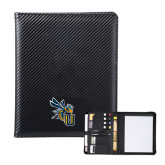 Carbon Fiber Tech Padfolio-CU with Yellow Jacket