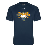 Under Armour Navy Tech Tee-Softball Bats and Plate Design