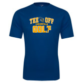Performance Navy Tee-Tee Off Golf Design