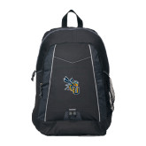 Impulse Black Backpack-CU with Yellow Jacket