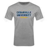 Grey T Shirt-Cedarville University EST. 1887