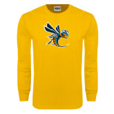 Gold Long Sleeve T Shirt-Yellow Jacket