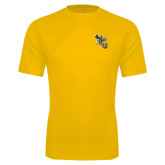 Syntrel Performance Gold Tee-CU with Yellow Jacket