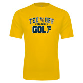 Syntrel Performance Gold Tee-Tee Off Golf Design