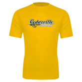 Performance Gold Tee-Softball Design