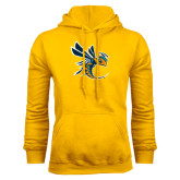Gold Fleece Hoodie-Yellow Jacket