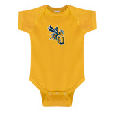 Gold Infant Onesie-CU with Yellow Jacket