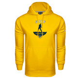 Under Armour Gold Performance Sweats Team Hoodie-Golf Golfer Design