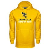 Under Armour Gold Performance Sweats Team Hoodie-Grandparent