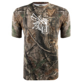 Realtree Camo T Shirt-CU with Yellow Jacket