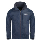 Navy Charger Jacket-Cedarville University EST. 1887