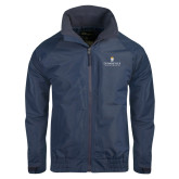 Navy Charger Jacket-Cedarville University