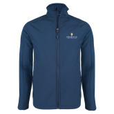 Navy Softshell Jacket-Cedarville University