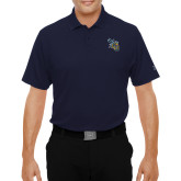 Under Armour Navy Performance Polo-CU with Yellow Jacket