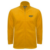 Fleece Full Zip Gold Jacket-Cedarville University EST. 1887