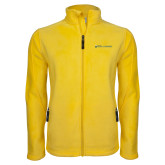 Fleece Full Zip Gold Jacket-Department of History and Government