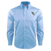 Red House Light Blue Dobby Long Sleeve Shirt-CU with Yellow Jacket