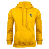 Gold Fleece Hoodie-CU with Yellow Jacket