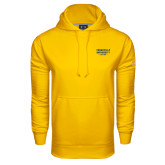 Under Armour Gold Performance Sweats Team Hoodie-Cedarville University EST. 1887