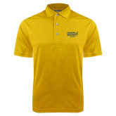 Gold Dry Mesh Polo-Cedarville University EST. 1887