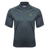 Charcoal Dri Mesh Pro Polo-CU with Yellow Jacket