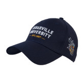 Navy Heavyweight Twill Pro Style Hat-Cedarville University EST. 1887