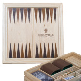 Lifestyle 7 in 1 Desktop Game Set-Cedarville University Engrave