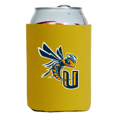 Collapsible Gold Can Holder-CU with Yellow Jacket