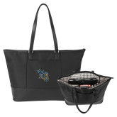 Stella Black Computer Tote-CU with Yellow Jacket