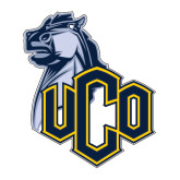 Large Decal-UCO with Mascot, 12 inches tall