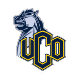 Small Decal-UCO with Mascot, 6 inches tall