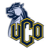 Extra Large Decal-UCO with Mascot, 18 inches tall