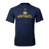 Under Armour Navy Tech Tee-Central Oklahoma Softball
