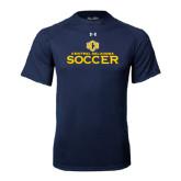 Under Armour Navy Tech Tee-Central Oklahoma Soccer
