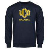 Navy Fleece Crew-UCO Grandpa