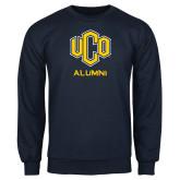 Navy Fleece Crew-UCO Alumni