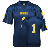 Replica Navy Adult Football Jersey-#1