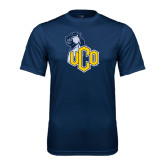 Performance Navy Tee-UCO with Mascot
