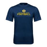 Performance Navy Tee-Central Oklahoma Football