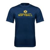 Performance Navy Tee-Central Oklahoma Softball