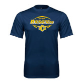 Performance Navy Tee-Bronchos Football